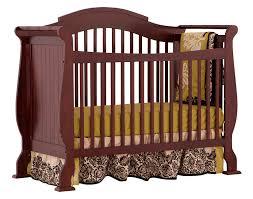 nursery black crib and changing table combo mahogany baby crib