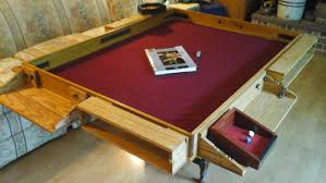 room and board custom table build a custom gaming table igeekout net