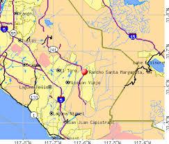 santa california map rancho santa margarita california ca 92678 profile population