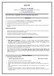 exle of a great resume vikas cv 1
