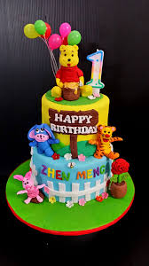 winnie the pooh cake topper winnie the pooh 1st birthday cake toppers decorating of party
