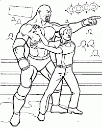 wwe printables free printable wwe coloring pages for kids
