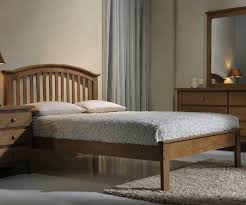 Oak Bed Cheap Solid Oak Bed Frames In Single King Size Beds Direct Uk