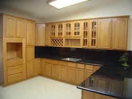 Pantry Cabinet Doors by Brilliant Oak Pantry Cabinets For Kitchen With Raised Panel