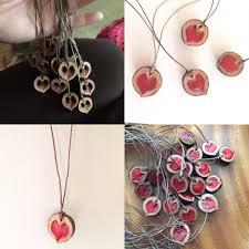 black shell necklace images Black walnut shell heart necklace valentine tutorial hearts jpg