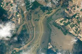 Flooding Missouri Map Flooding Near New Madrid Missouri Natural Hazards