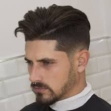 hair under cut with tapered side undercut fade men s hairstyles haircuts 2018