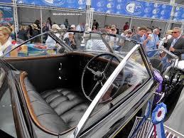 rolls royce vintage interior 1930 rolls royce phantom ii 2016 amelia island best of show