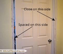 Hanging Interior Doors How To Install New Interior Door Frame Www Napma Net