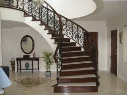 amazing curved stair wainscoting 7837