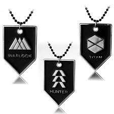 3 style ps4 ornament destiny fate occupational logo necklace
