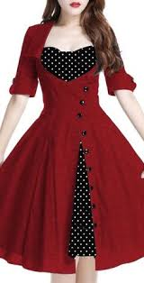 polka dot mini dress sweetheart neckline double ruffle hem