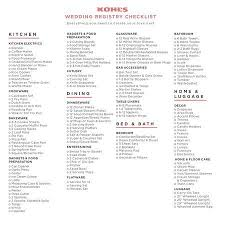 best wedding registries wedding registry checklist best 25 wedding registry checklist