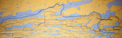 Bwca Map West Bearskin Border Route Clearwater Historic Lodge