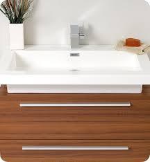 Teak Bathroom Cabinet Fresca Fvn8080tk Medio 32