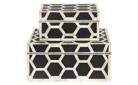 honeycomb bone boxes jayson home