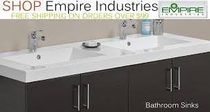 Bathroom Empire Reviews The Empire Collection Offers A Variety Of Bathroom Vanities
