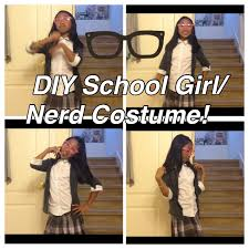 nerd costumes for halloween easy and quick diy nerd halloween costume youtube