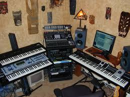 studio keyboard desk jeff laity