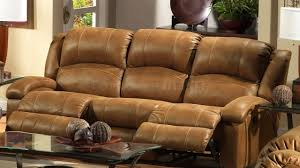 Brown Leather Recliner Sofas Distressed Leather Reclining Sofa