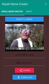 Meme Creator Download - nepali meme creator apk download free productivity app for android