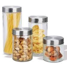 silver rooster decorative glass canister set canister sets