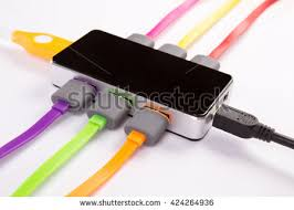 hub set connected color wires stock photo 422881471 shutterstock