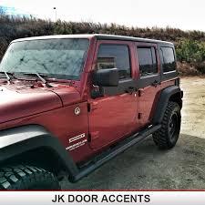 4 door jeep wrangler top jk 2dr 4dr door skins accents alphavinyl