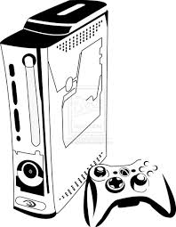Xbox 360 Coloring Pages coloring pages xbox 360 coloring page