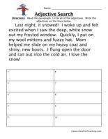 adjective worksheet proper nouns free printable worksheets and