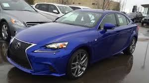 lexus gs 350 or is350 new ultrasonic blue 2015 lexus is 350 awd f sport series 2 review