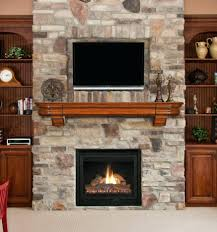 modern fireplace designs with tv above combo and design ideas