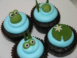 frog baby shower baby shower cupcakes
