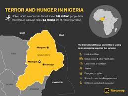Map Of Nigerian States by Nigeria Risk Of Man Made Famine Threatens Millions