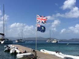 Virgin Islands Flag Segelurlaub In Der Karibik Traumurlaub Für Jedermann