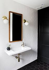 white and black bathroom ideas best 25 hexagon tile bathroom ideas on shower white
