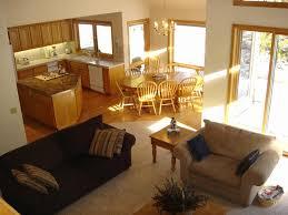 open floor plan kitchen dining living room kitchen dining and living room design inexpensive open floor plan