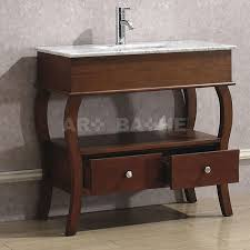 36 Bathroom Vanity by Art Bathe Windsor 36 Bathroom Vanity Cherry Finish Solid Hardwood