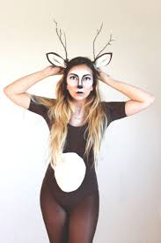 woodland fairy halloween costume diy ears and antlers micheal u0027s leotard american apparel tights