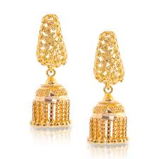 gold jhumka earrings gold jhumka earrings designs at best price in india