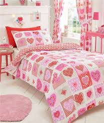 Girls Patchwork Bedding by Girls Duvet Sets Quilt Covers U0026 Curtains Printed Patchwork Lace