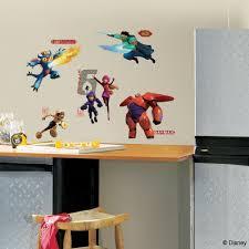 twenty new wall stickers under 20 roommates blog disney big hero 6 wall stickers
