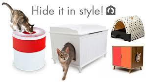 stylish ways to hide the litter box u2022 hauspanther