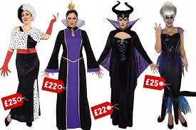 Monopoly Halloween Costume Asda Selling Disney Villain Halloween 22