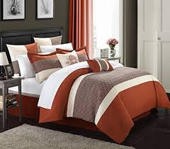 Coral Colored Comforters Rust Colored Comforters And Bedding Sets