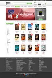 templates for bookshop free bookstore website template psd free psd webdesign layout