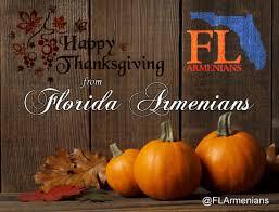 happy thanksgiving from florida armenians florida armenians