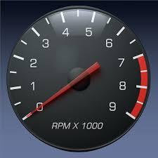 tachometer gauge for auto truck instrument panel by alphazebra