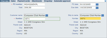 sales order table in sap filling the header of the sap sales order form