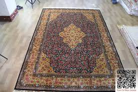 Cheap Persian Rugs For Sale Gold Base Beautiful Handmade Soft Silk Carpet Rugs Avy